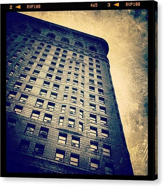 Landmark Canvas Print - Look Up by Natasha Marco