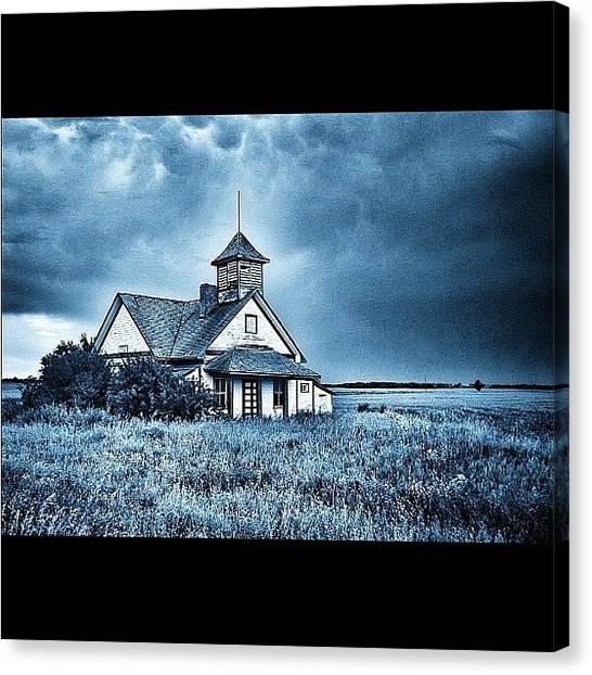 Saskatchewan Canvas Print - Look What I Found In My Photos.. Old by Kjersti Nevestveit-Thompson