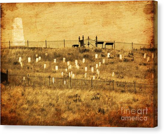 Looking At History Canvas Print by Terrie Taylor
