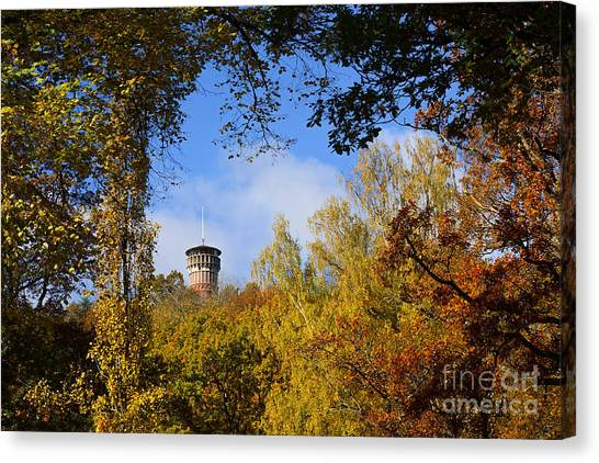 Colorplay Canvas Print - Lookout Tower by Lutz Baar