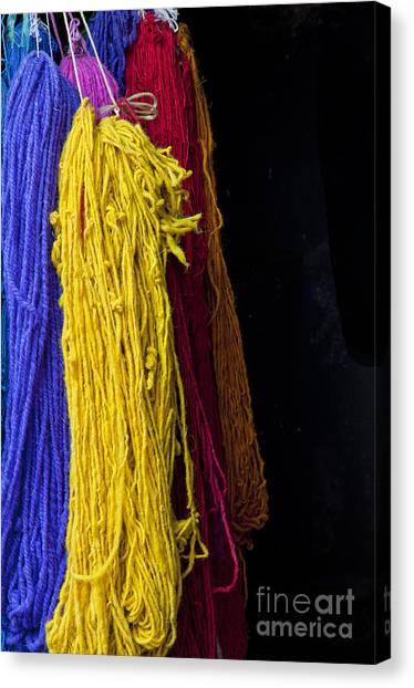 Moroccon Canvas Print - Loose Ends by Marion Galt