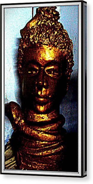Lord Shiva Canvas Print by Anand Swaroop Manchiraju