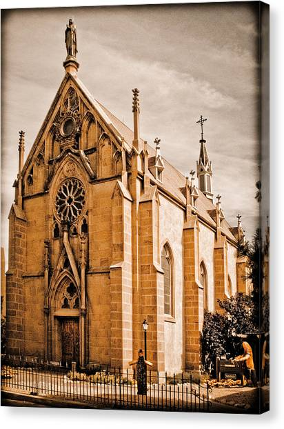 Loretto Chapel Canvas Print