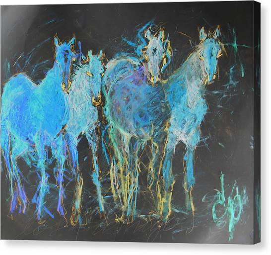 Los 4 Amigos 2 Canvas Print
