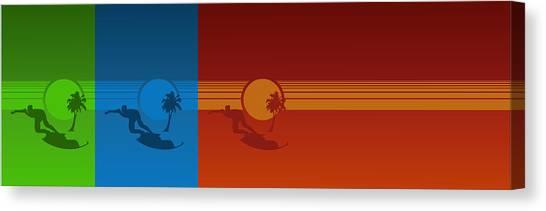 Los Angeles Canvas Print by Tomas Raul Calvo Sanchez