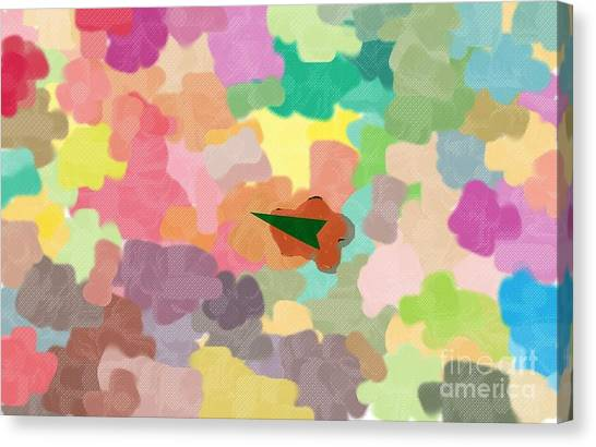 Lost In The Colors Canvas Print