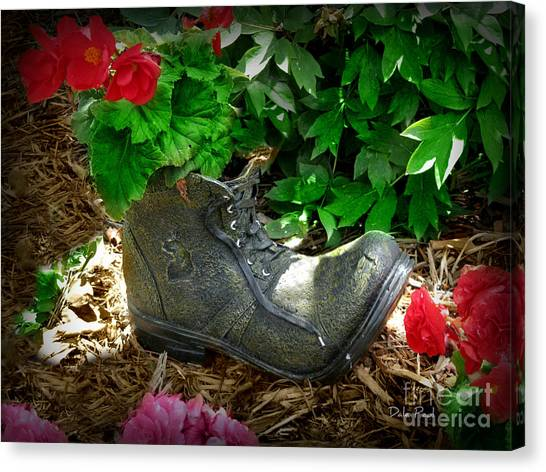 Lost Sole Canvas Print