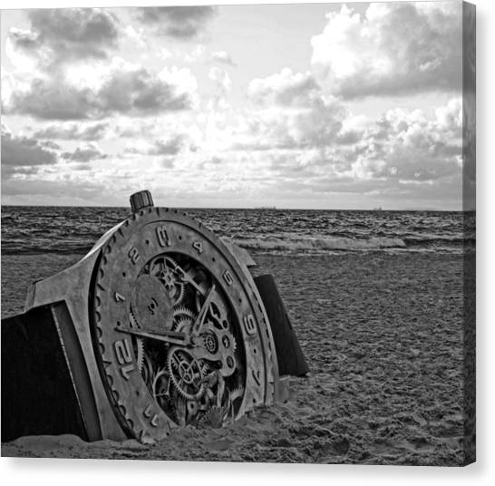 Lost Time Canvas Print by Gordon Pressley