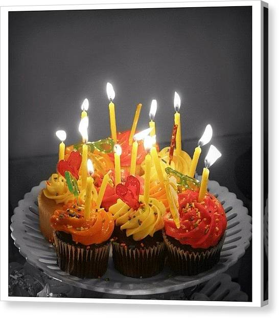 Happy Birthday Canvas Print - Lots Of Birthdays In The Past Week! by Caleb Schlaack