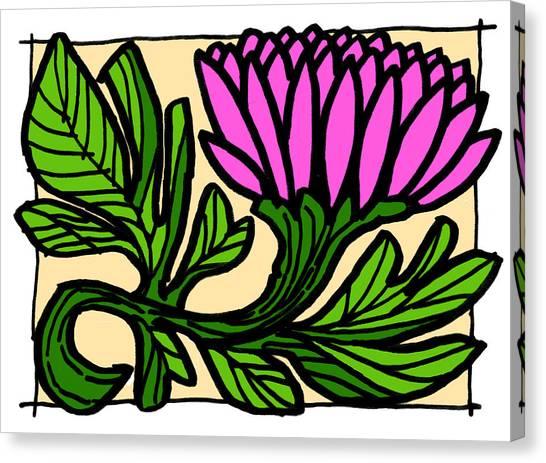Lotus Power Canvas Print