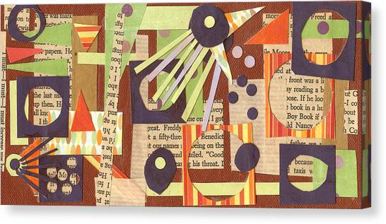 Louises Lash  Canvas Print by Pegeen  Shean