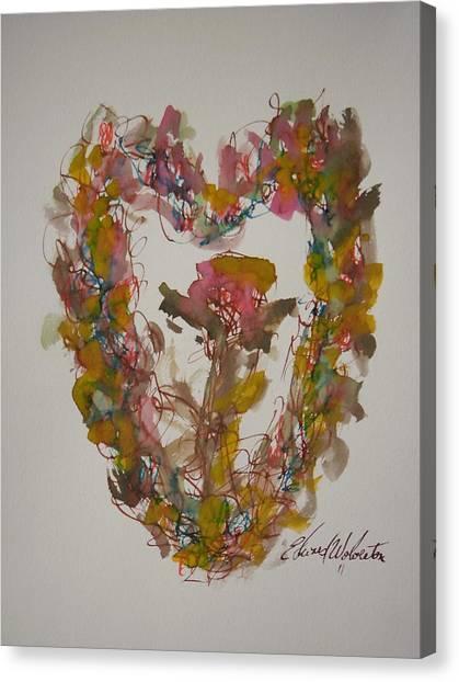 Love Heart Canvas Print by Edward Wolverton