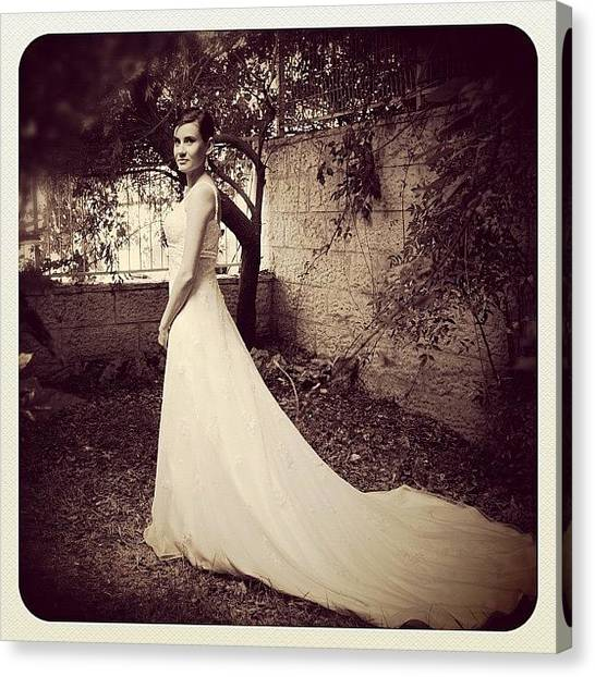 Wedding Canvas Print - #love #iphotography #instegram #tlv by Anat Cohen