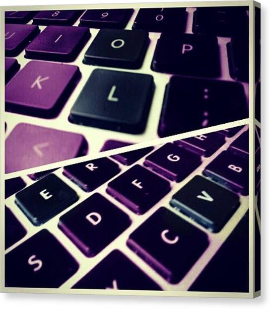 Mac Canvas Print - Love #macro #photoadaymay #love by Jermaine Young