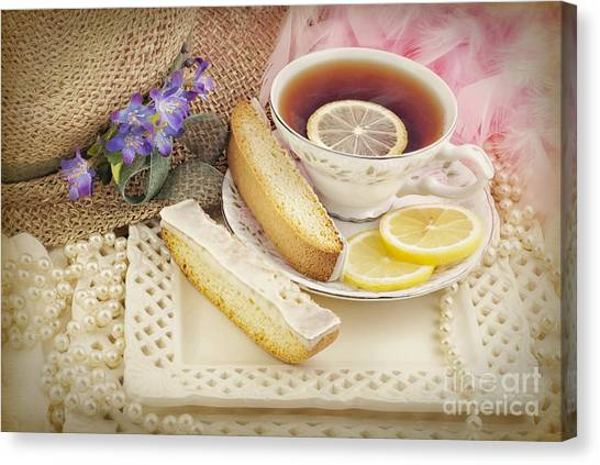 Lovely Tea Party Canvas Print
