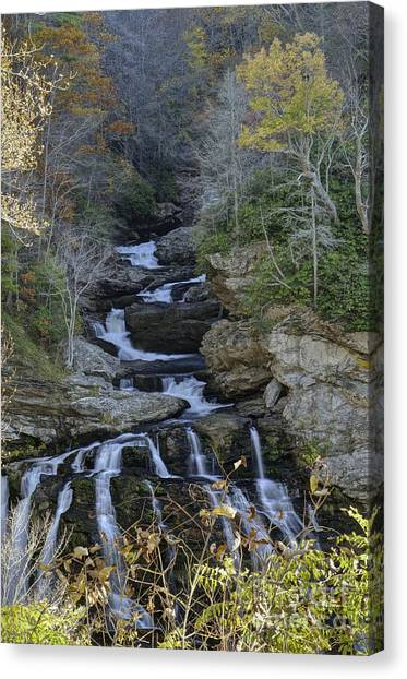 Lower Cullasaja Falls Photograph By David Waldrop