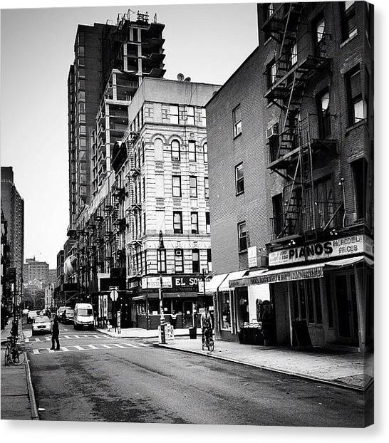 Piano Canvas Print - Lower East Side Pianos - New York City by Vivienne Gucwa