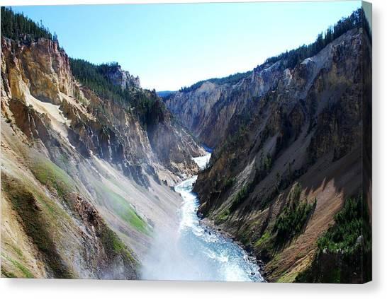 Lower Falls - Yellowstone Canvas Print