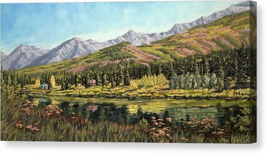 Lower Summit Lake Canvas Print