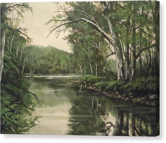 Loyahanna Creek Canvas Print