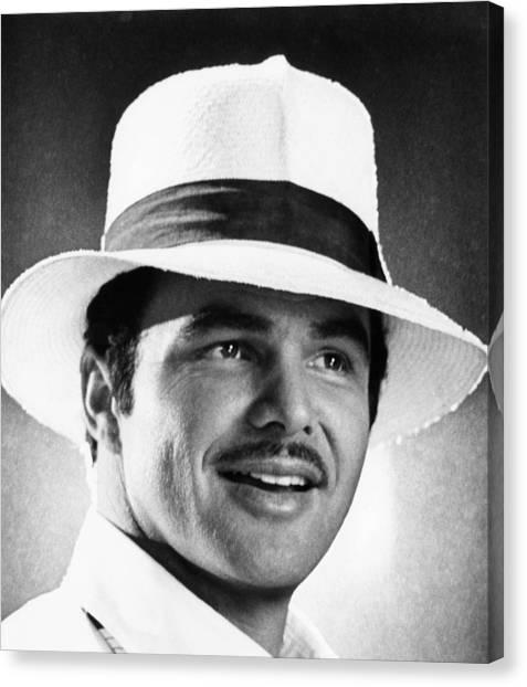 Burt Reynolds Canvas Print - Lucky Lady, Burt Reynolds, 1975 by Everett