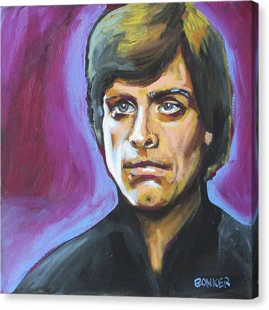 Luke Skywalker Canvas Print by Buffalo Bonker