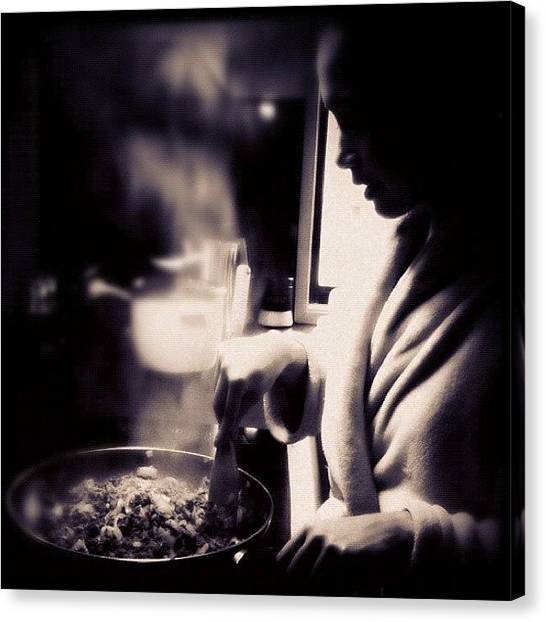 Steam Canvas Print - Lunch Time #fuda #fcnphoto #fairfax by Luke Fuda