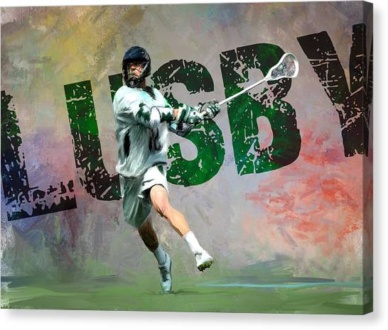 Lusby Lacrosse Canvas Print by Scott Melby