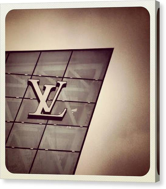Marinas Canvas Print - #lv #louis Vuitton #singapore #sgig by Wilson Aw