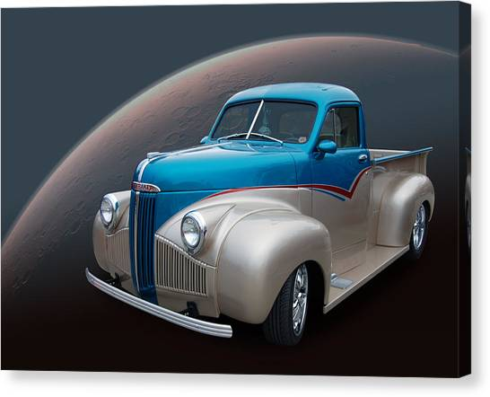 Automotive Art Series Canvas Print - M Series Studebaker by Bill Dutting