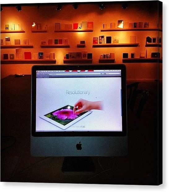 Mac Canvas Print - #mac #apple #iphone #shenkar #gallery by Alon Ben Levy