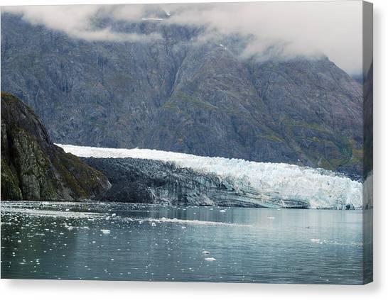 Margerie Glacier Canvas Print - Magarie Glacier 1 by Michael Peychich