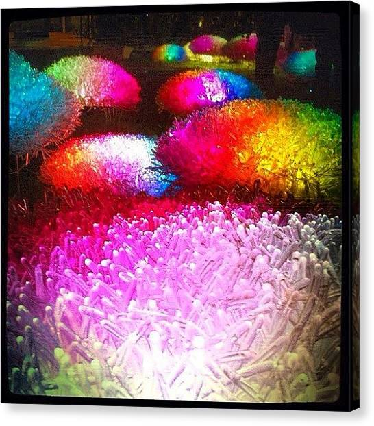 Installation Art Canvas Print - Magic Lights by Ji Lyn Ho