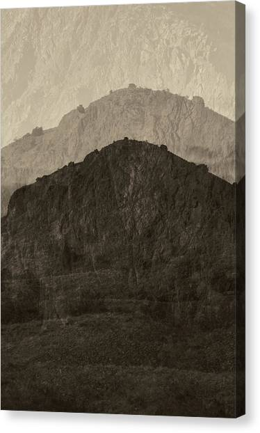 Magic Mt Sante Fe Canvas Print