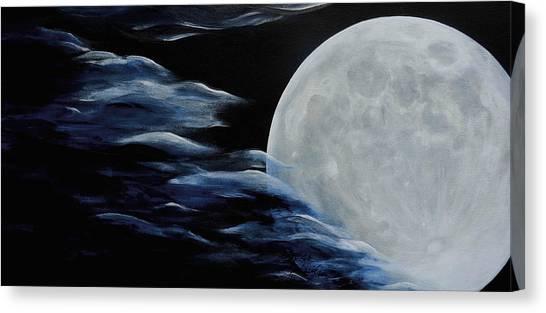 Magica Luna Canvas Print