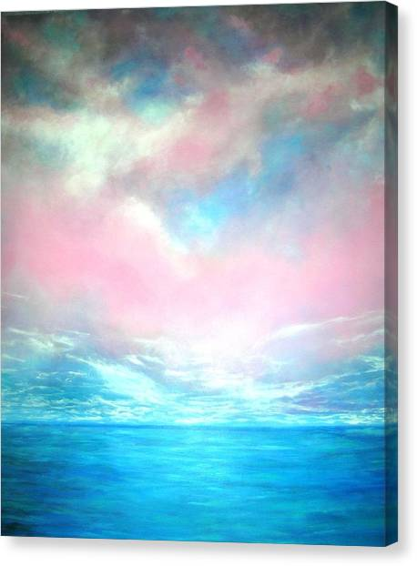Magical Indian Ocean  Canvas Print