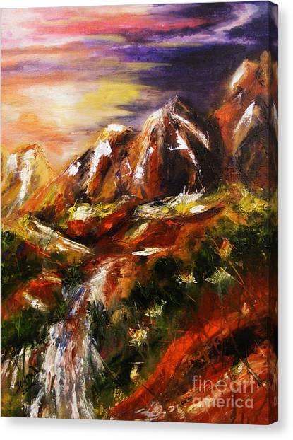 Magical Morn Canvas Print