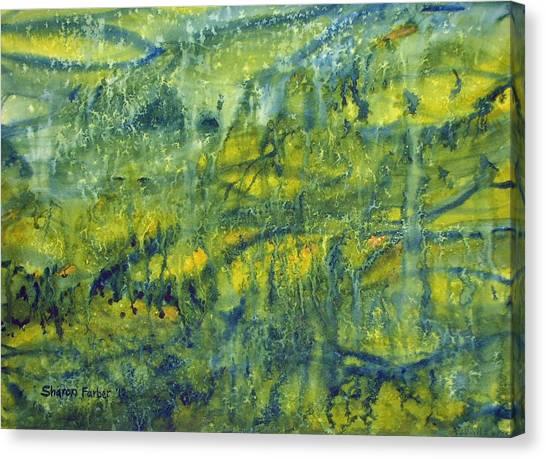 Magical Rainforest Canvas Print by Sharon Farber
