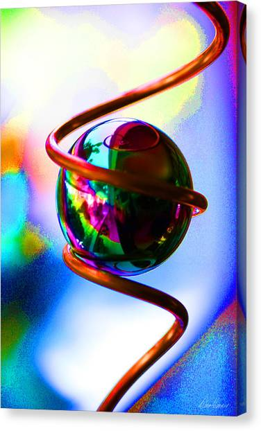 Magical Sphere Canvas Print