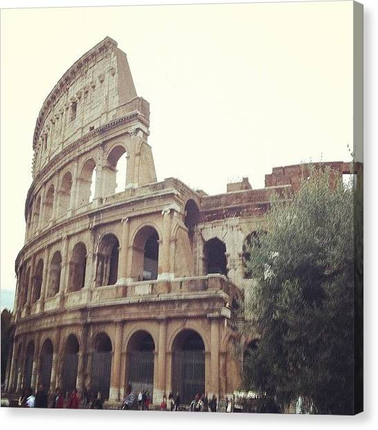 Rome Canvas Print - Magnifficent!! by Marce HH