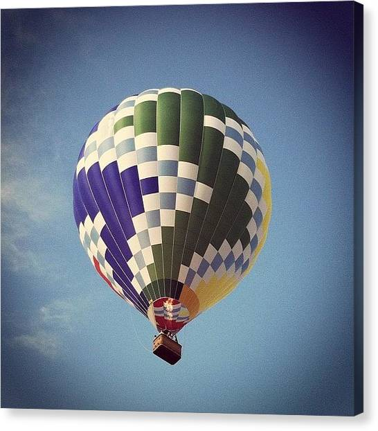 Hot Air Balloons Canvas Print - Magnificent View by Tammy Tubman