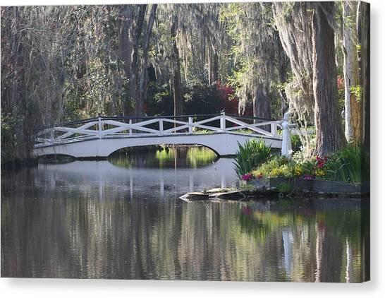 Magnolia Gardens Canvas Print