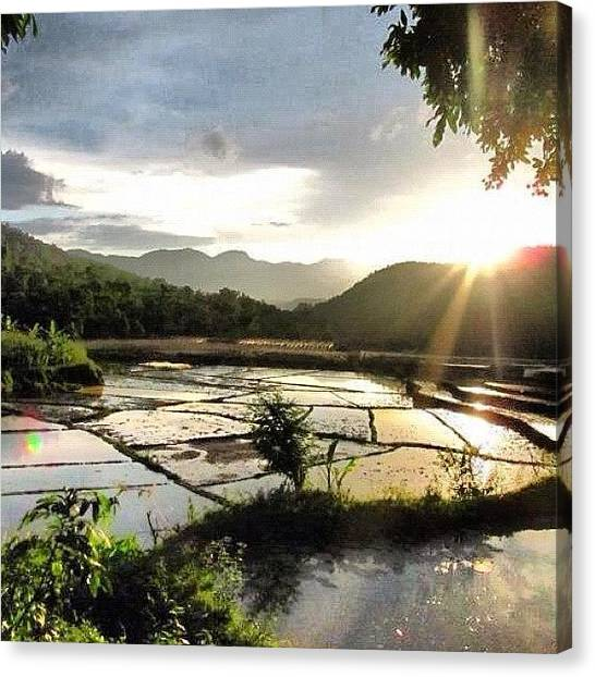 Vietnamese Canvas Print - #mai #chau #vietnam #landscape by Universal Traveller