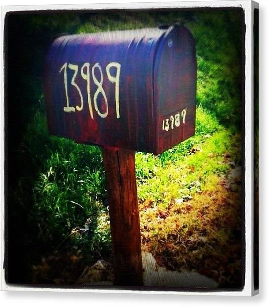 Kentucky Canvas Print - Mail The Way It Should Be!📩📫 by Roberta Robedeau