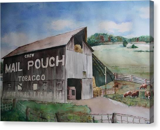 Mailpouch Canvas Print by David Ignaszewski