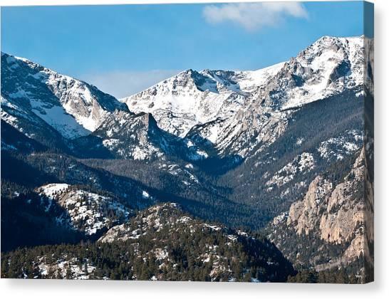 Majestic Rockies Canvas Print
