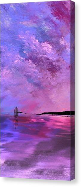 Majestic Vertical Canvas Print
