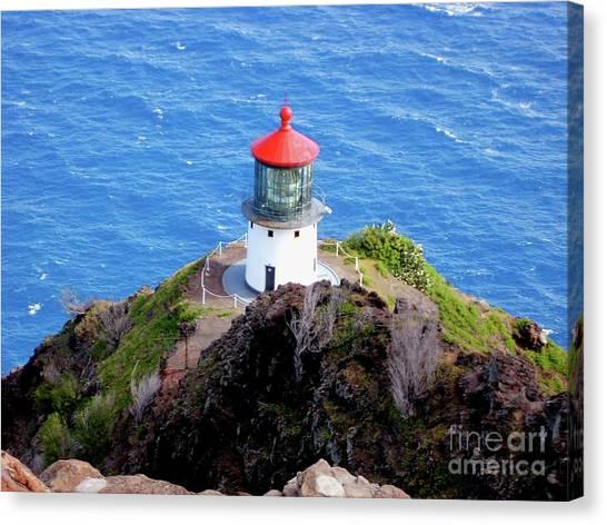 Makapupu Lighthouse Canvas Print