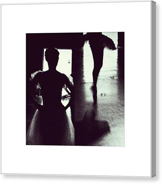 Ballet Canvas Print - mama Says: Truth Is All That by Miguel Angel Camero