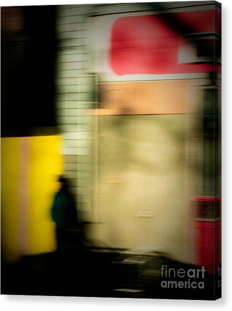 Man In The Shadows Canvas Print by Emilio Lovisa